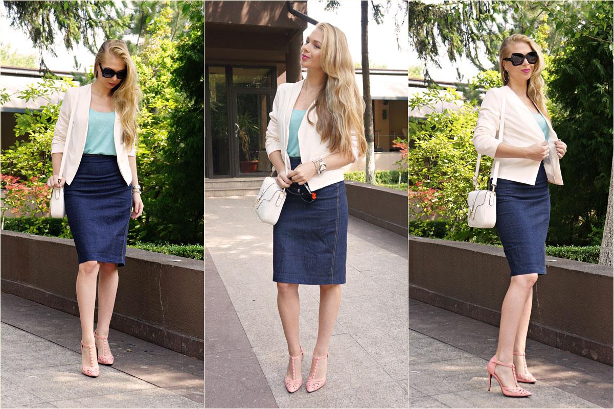 denim.Skirt.Zara