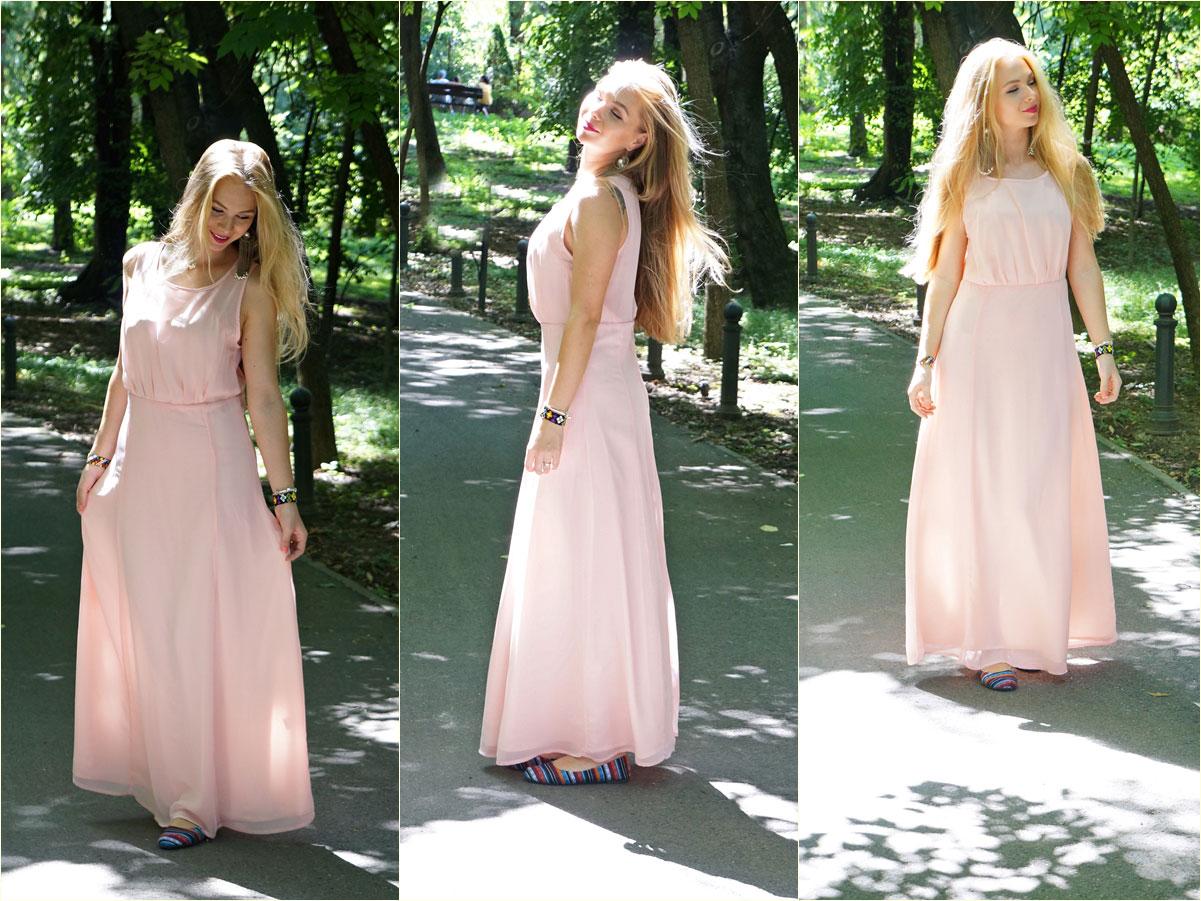 milanoo.pink.maxi.dress