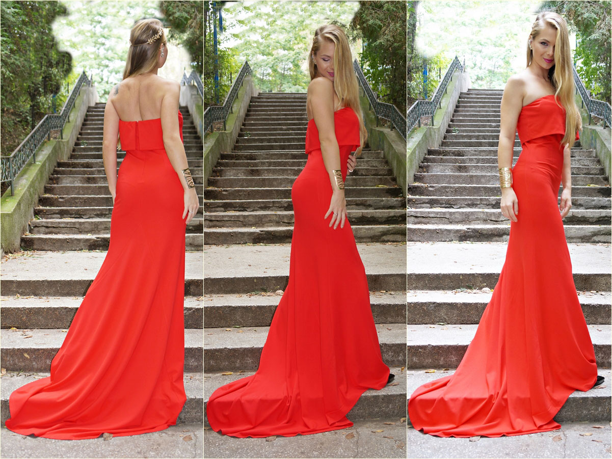 red.dress.shein